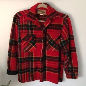 Vintage Chippewa Woolens Mackinac Coat Rare S/M